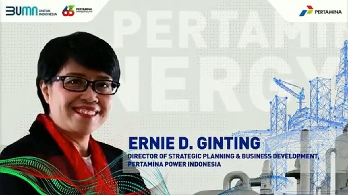 Foto: Pertamina-Ernie D Ginting, Director of Strategic Planning and Business Development PPI,